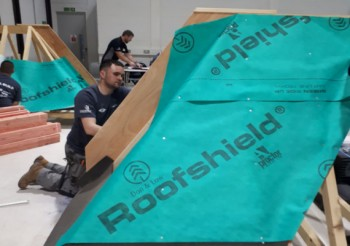 A. Proctor Group supports trade in developing skills with Roofshield®