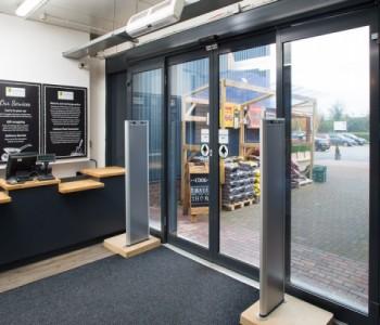 Axis Doors Improve Access at Stratford Garden Centre