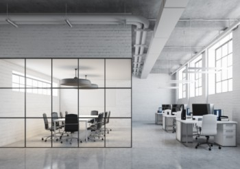 Big city styling for open-plan environments made possible with CRL Langle New York Office system