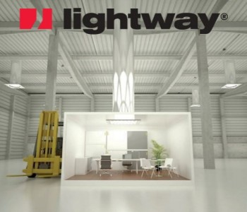 Brighten up your workplace with the Lightway Maximus 5000