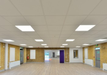 Community centre heralds a New Beginning, thanks to Armstrong Ceilings
