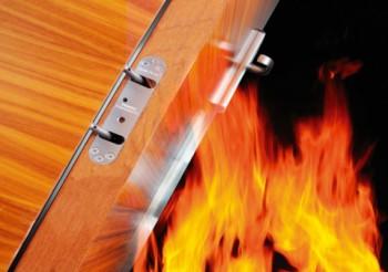 Concealment enhances fire safety