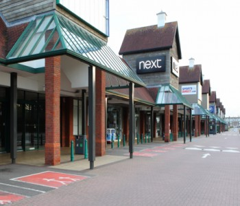 Coventry's Central 6 Retail Park covers up with Encasement