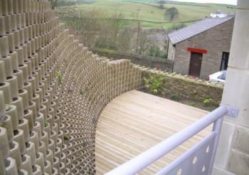 Dry-Build Betoconcept landscape walling