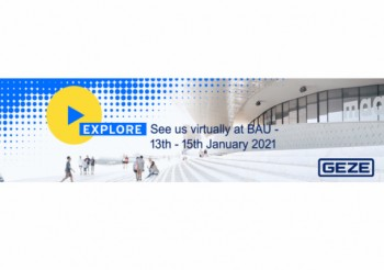 Experience GEZE live at  BAU Online 2021