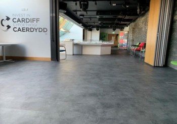 Gerflor King of the Castle in Cardiff with its Creation 70 LVT