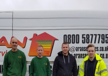 Glidevale helps Aran Services to combat roof space condensation