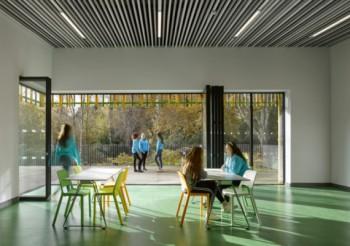 Hunter Douglas HeartFelt® ceiling creates continuity in second phase of Girlguiding activity centre