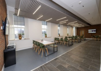 Hunter Douglas HeartFelt ceiling installed in Scotland for the first time