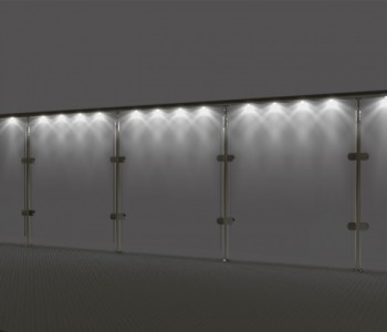 Illumirail LED system for Handrails