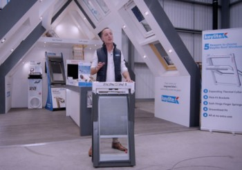 Keylite Roof Windows supports trades with online product training