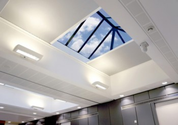 Rooflight blinds without the hassle