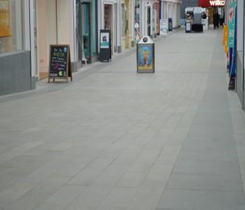 Stunning granite flooring completes shopping centre refurbishment.