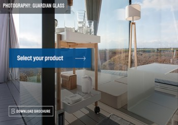 The Guardian Glass Product Selector: intuitive, fast and efficient