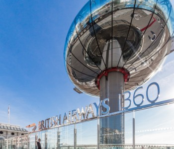 Tobermore hard landscaping solution specified at British Airways i360