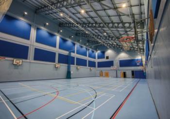 TVS breathes new life into school sports hall