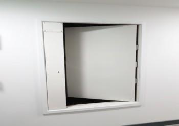 Whitesales Es-Shaft smoke vent door for safer means of escape