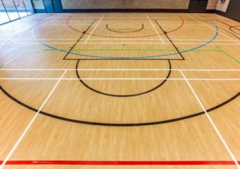 World class Taraflex® flooring for Becket Keys School