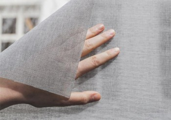 WORLD'S FIRST SELF-ADHESIVE, TRANSPARENT WINDOW FABRIC FROM ARCHITEXTURAL