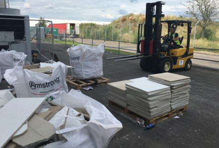Armstrong Ceilings hit the heights at Farnborough