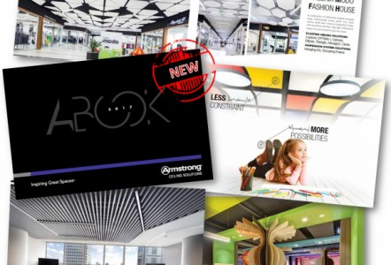 Armstrong Ceilings showcases European projects in its A Book for 2017