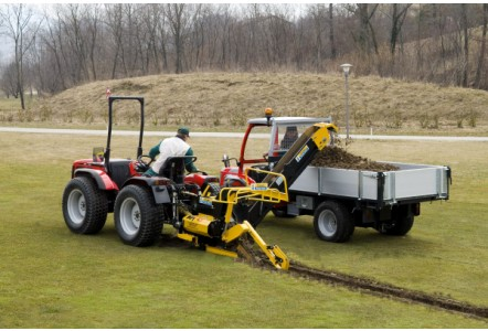 ATF Trenchers supply the world's leading venues