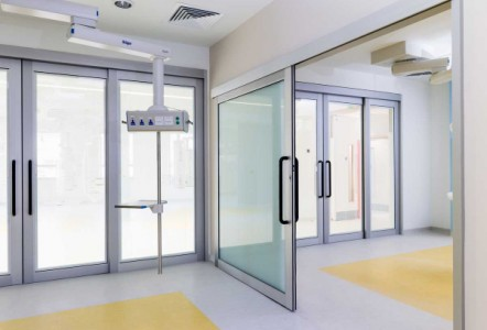 Axis Doors for Healthcare Environments
