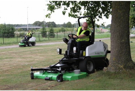 Campey Brings Sustainable Course Maintenance to BTME 2020 with the AllTrec Tool Carrier
