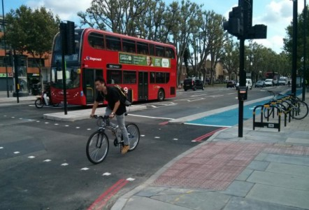 ​Charcon partners with local authorities to segregate traffic and cyclists ​