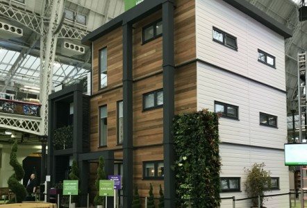 CLADDING MAKES AN 'IDEAL HOME'