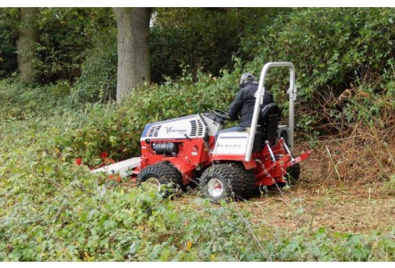 Ditch the strimmer, Ventrac is here