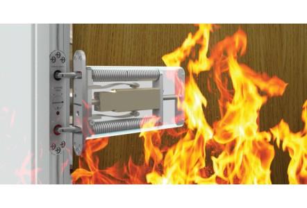 Door closer enhances high-rise fire safety