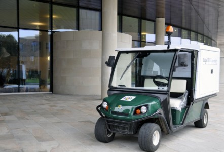 Edge Hill University purchase first E-Z-GO 14-seater in UK