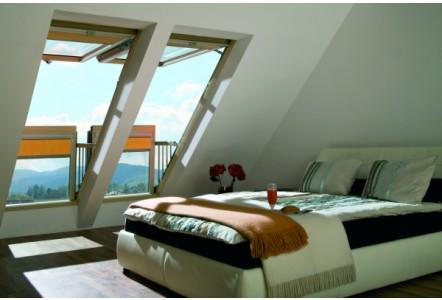 FAKRO Balcony Window – the ultimate, contemporary alternative to a dormer