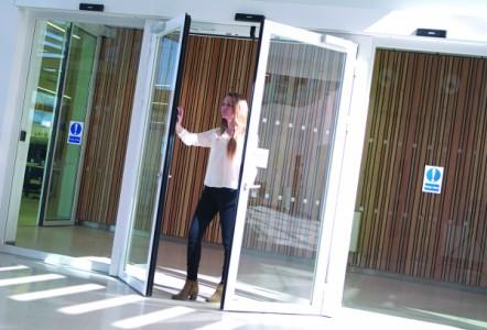 Gilgen Automatic Door helps reduce fire risk