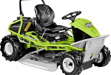 Grillo's extensive range of walk behind and ride on brush cutters