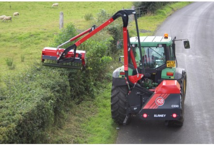 Hedgecutter makes use of Blaney innovation
