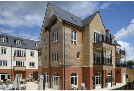 HOWARTH TIMBER CLADDING PUTS THE FINISHING TOUCH ON OXFORDSHIRE RETIREMENT VILLAGE