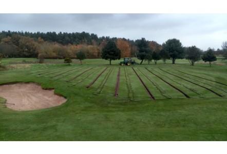 Hurlston Hall Golf Club opt for precision greens drainage
