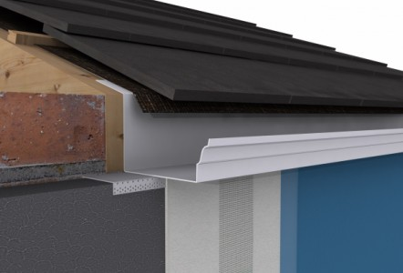 Introducing EWI Gutter from Alumasc Facades – Giving refurbishments the new build look