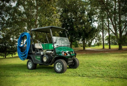 Jacobsen Launches Cushman Hauler ELiTE at BTME 2019
