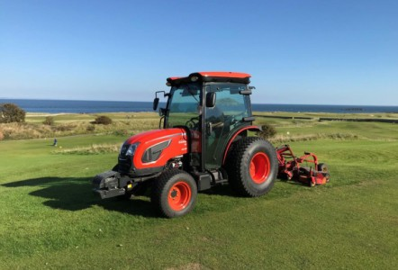 Kioti Tractors high specification as standard for comfort and control