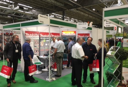 Makita UK returned to a busy Saltex this year on stand K190d within the BALI Zone.