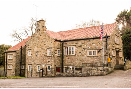 New Rainwater System For The Linton on Wharfe Memorial Hall