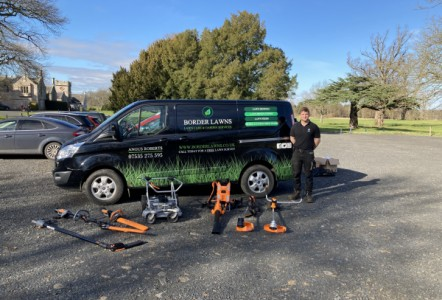 Pellenc is the way for ambitious Border Lawns