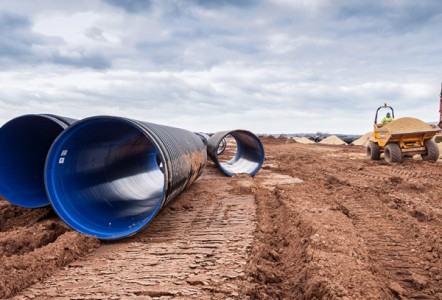 POLYPIPE PICKED FOR LARGE SCALE INLAND PORT PROJECT