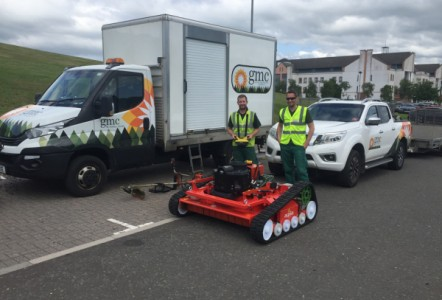 Rain or shine agria 9600  boosts productivity for contractor GMC