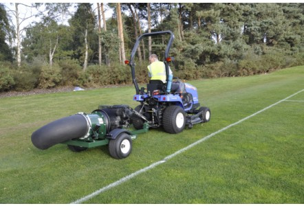 Ransomes Jacobsen distributes the Turfco range