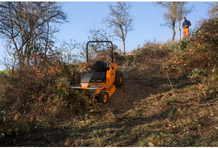 Remote-Controlled Ride-On Brushcutter from AS Motor