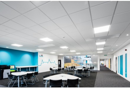 Rockfon ceiling solutions for work, rest and play